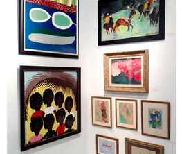 Galerie Bonheur at Outsider Art Fair 2016
