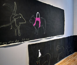 On the Wall: Doggie Parade