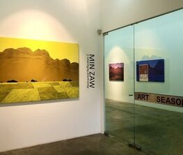 Abstracted Reflection 2. A Min Zaw Solo Exhibition