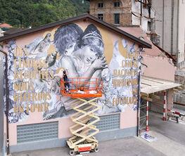 Triennale of Maroggia. Between Street and Street Art