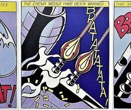 POP, WHAAM, POW, CRAK!  The Artwork of Roy Lichtenstein