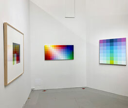 """Robert Swain""""Scaled Color Studies for Monumental Paintings"""": Selections From Iconic Series Since 1987"""
