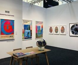 Manifold Editions at Art on Paper 2020