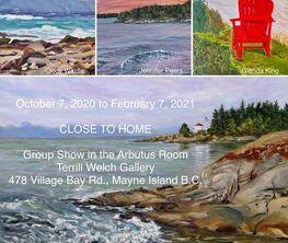CLOSE TO HOME - Arbutus Room Group Show