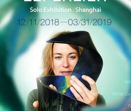 Juliette Leperlier - Poetry in glass - solo exhibition in Shanghai