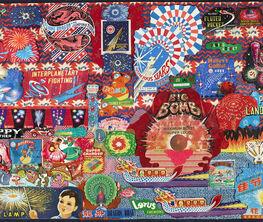 Firework Art Collage