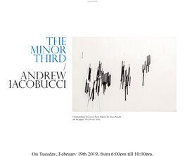 THE MINOR THIRD / ANDREW IACOBUCCI