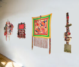 On the Wall: Headdresses for Peace