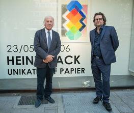 Heinz Mack - Unikate auf Papier