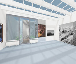 ORNELLA FIERES - LIGHT SHINES THROUGH THE CURTAINS OF TIME, curated by TINA SAUERLAENDER