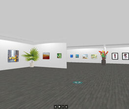 The small formats of the gallery