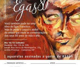 EGAS80: Oito Décadas Intensas de Arte e Vida