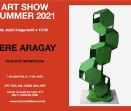 ART SHOW SUMMER 2021 PERE ARAGAY