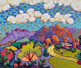 "Artist Claudia Hartley ""Color Your World"""