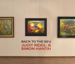 Back to the 50's - Judit Reigl & Simon Hantai