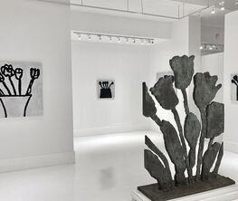 Donald Baechler: Black Flowers