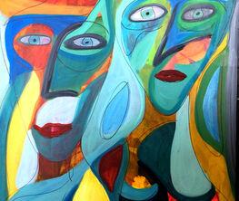 Figurative abstraction- Jonh Bacon