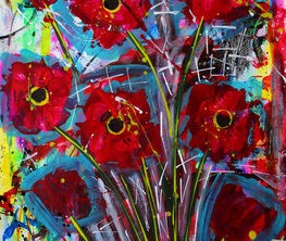 Solo Exhibition from Franck de las Mercedes: Every Year the Flowers Bloom