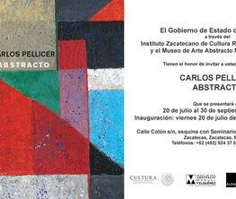 Carlos Pellicer: Abstracto