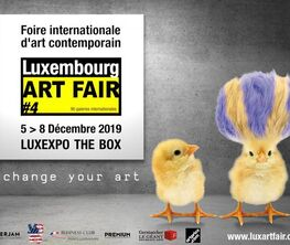 Malagacha Gallery  at Luxembourg Art Fair 2018