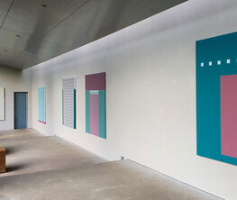 Tess Jaray: From Piero and other paintings
