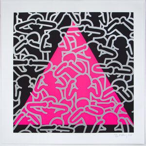 Keith Haring, 'Silence = Death', 1989