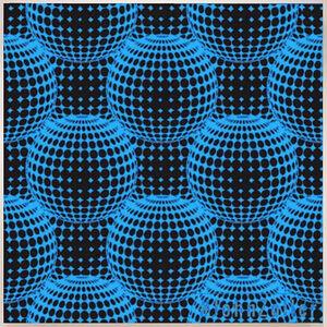 John Zoller, 'John Zoller, Blue Multiverse Cluster', 2018