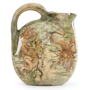 Martin Brothers, 'Pitcher with grotesque sea creatures', 1895