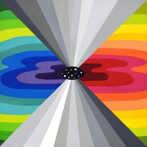 Okuda San Miguel, 'Eye to the Universe IV', 2019