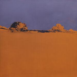 María José Concha, 'Orange Purple Twilight', 2014