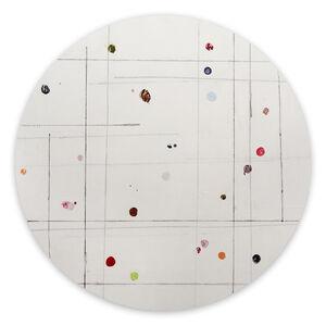 Harald Kröner, 'Tondo 9 (Abstract painting)', 2020