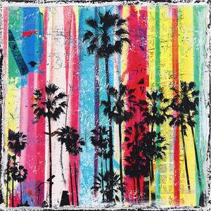 Marion Duschletta, 'Rainbow Palms 3', 2019