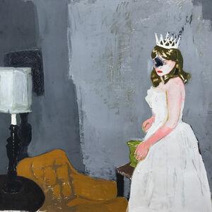 Mercedes Helnwein, 'Princess', 2017