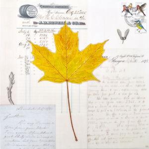 Kenna Moser, 'Yellow Maple Leaf'