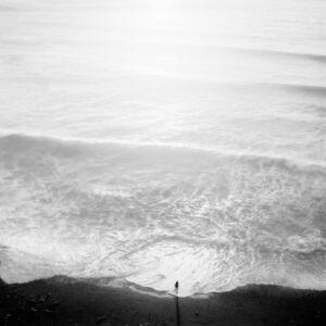 Jeffrey Conley, 'Figure and Tide, Big Sur', 2001