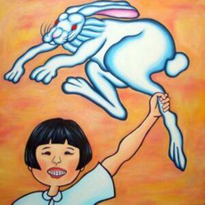 Satoshi Jimbo, 'Rabbit, Girl and the Red Sky', 2006