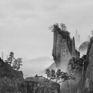 Yang Yongliang 杨泳梁, '太古蜃市 - 悬崖 Time Immemorial - The Cliff', 2016