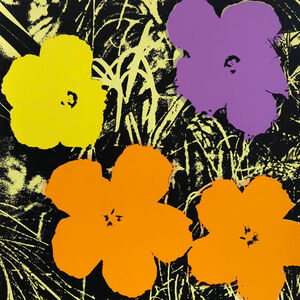 Andy Warhol, 'Flowers 11.67', 1967 printed later