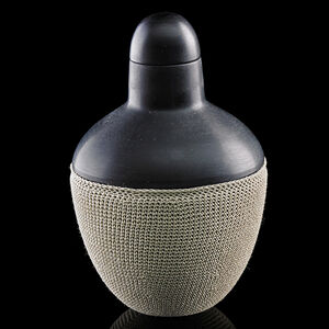 Cristiano Bianchin, 'Black vase with stopper', 2013