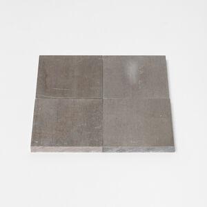 Carl Andre, '2 x 2 Aluminum Square', 2018