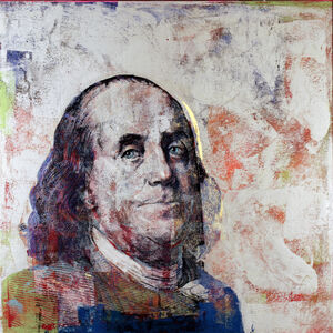 Houben R.T., '$100 Ben Franklin', 2016