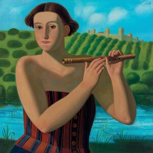 Afifa Aleiby, 'Flute', 2012