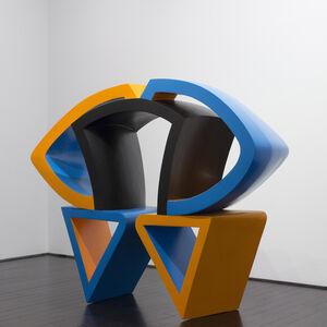 George Sugarman, 'Orange, Blue and Black', 1968-1970