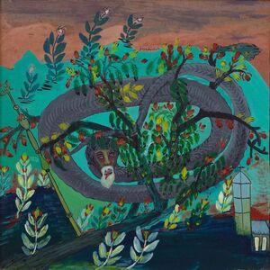 Felix Lafortune, 'Papa Dambala (Snake God of Creation)', ca. 1978