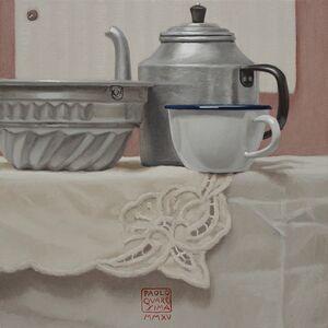 Paolo Quaresima, 'COLAZIONE CON TORTA (Breakfast with cake)', 2015