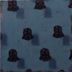 Dan Pelonis, 'Vaders on Blue', 2019