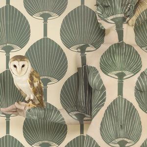 Emma Hack, 'Wallpaper Owl II', 2008