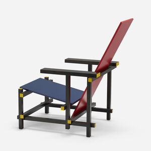 Gerrit Thomas Rietveld, 'Red Blue chair', 1918