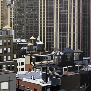 Neil Douglas, 'NYC (Rooftops)', 2020