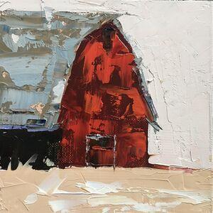 Sandra Pratt, 'Red Barn ', 2020